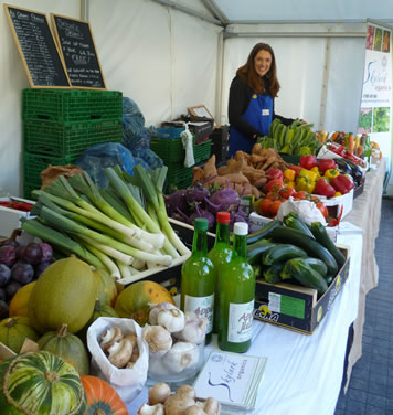 Organic farmers markets Herefordshire